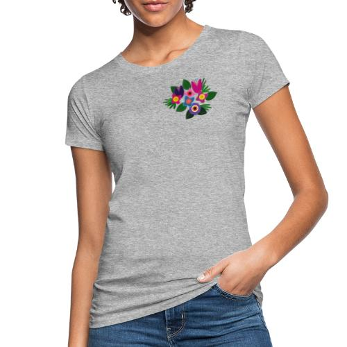 Flowers - Frauen Bio-T-Shirt