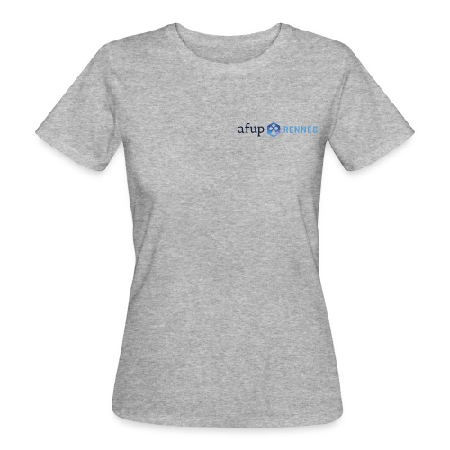 AFUP Rennes - T-shirt bio Femme