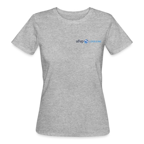 AFUP Lorraine - T-shirt bio Femme