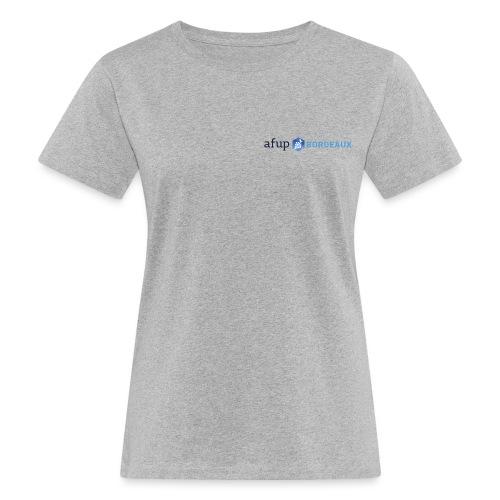 AFUP Bordeaux - T-shirt bio Femme