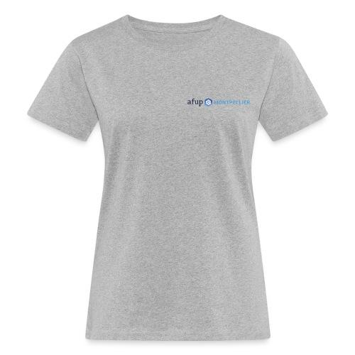 AFUP Montpellier - T-shirt bio Femme