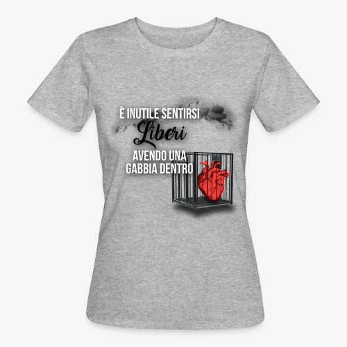 Rap Art ITA BRAND - T-shirt ecologica da donna