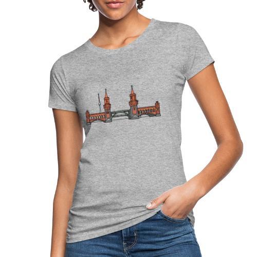 Oberbaumbrücke a BERLINO c - T-shirt ecologica da donna