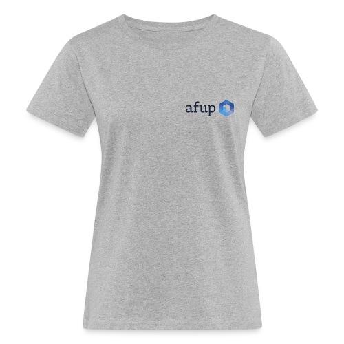 Le logo officiel de l'AFUP - T-shirt bio Femme