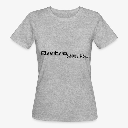 ElectroShocks BW siteweb - T-shirt bio Femme