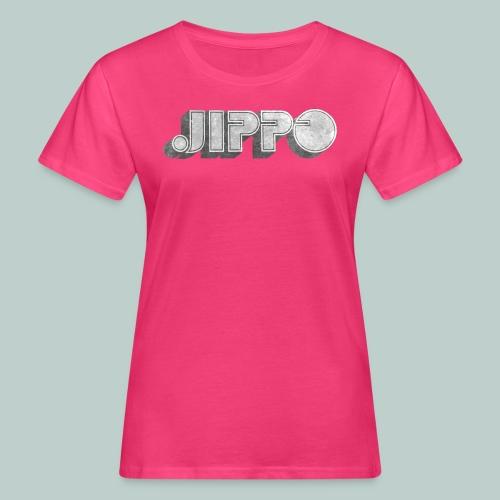 Retro JIPPO logo - Naisten luonnonmukainen t-paita