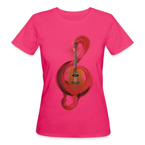Power of music - T-shirt ecologica da donna