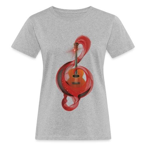 Power of music - T-shirt ecologica da donna