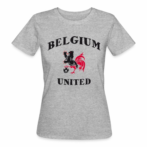 Belgium Unit - Women's Organic T-Shirt