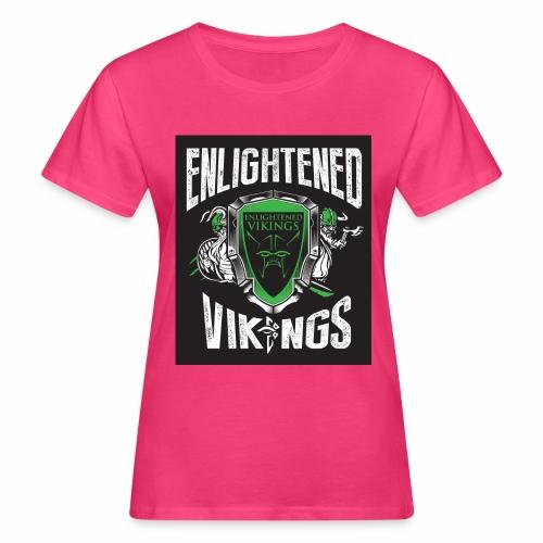 Enlightend Vikings - Økologisk T-skjorte for kvinner