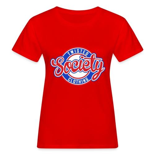 Retro baseball logo - Women's Organic T-Shirt