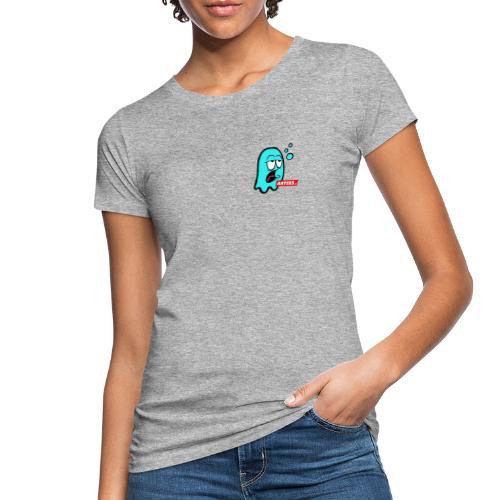 Artees GHOST Blue SMALL LOGO - Frauen Bio-T-Shirt
