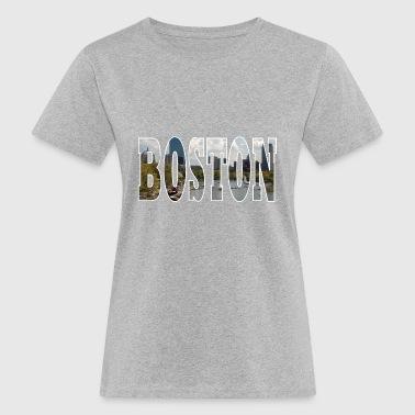 BOSTON USA - T-shirt ecologica da donna
