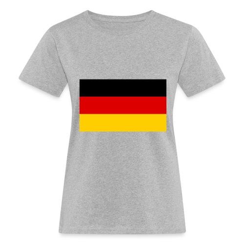 2000px Flag of Germany svg - Frauen Bio-T-Shirt