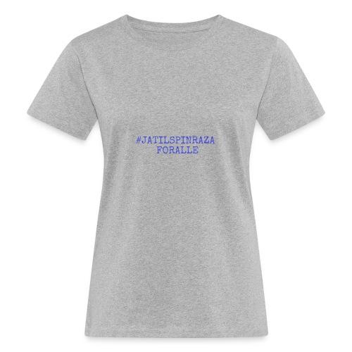 #jatilspinraza - blå - Økologisk T-skjorte for kvinner