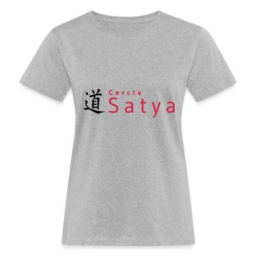 logo inline - T-shirt bio Femme
