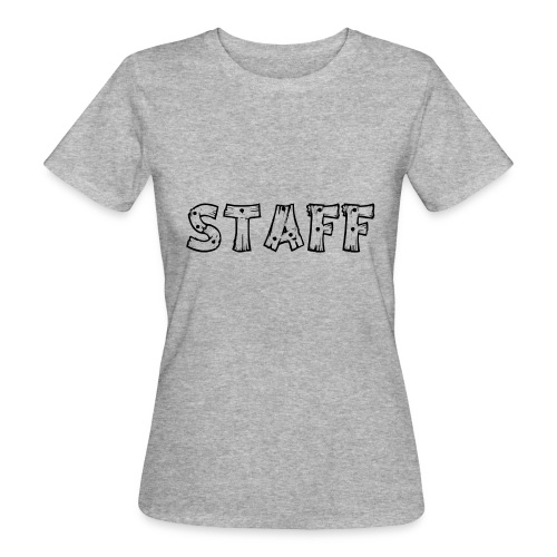 STAFF - T-shirt ecologica da donna
