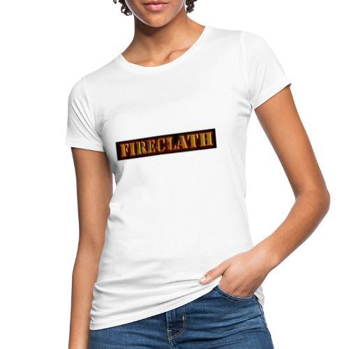 Fireclath Merch - Frauen Bio-T-Shirt
