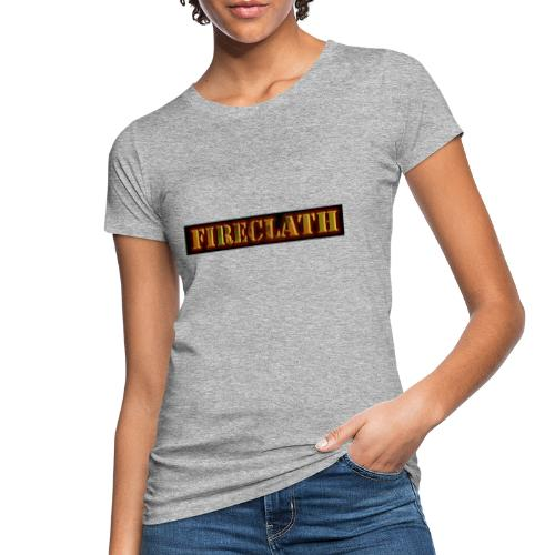 Fireclath Merch - Frauen Bio-T-Shirt