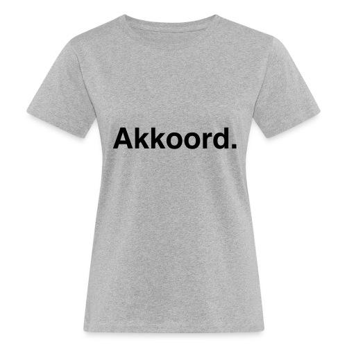 Akkoord - Vrouwen Bio-T-shirt