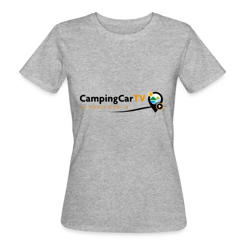 LOGO CCTV - T-shirt bio Femme