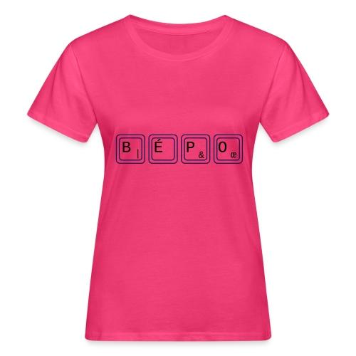 bépo - T-shirt bio Femme