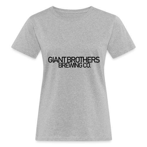 Giant Brothers Brewing co SVART - Ekologisk T-shirt dam