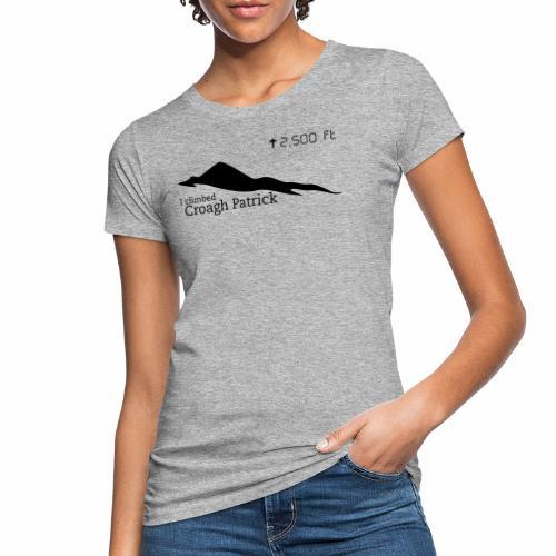 Croagh Patrick (Altitude) - Women's Organic T-Shirt