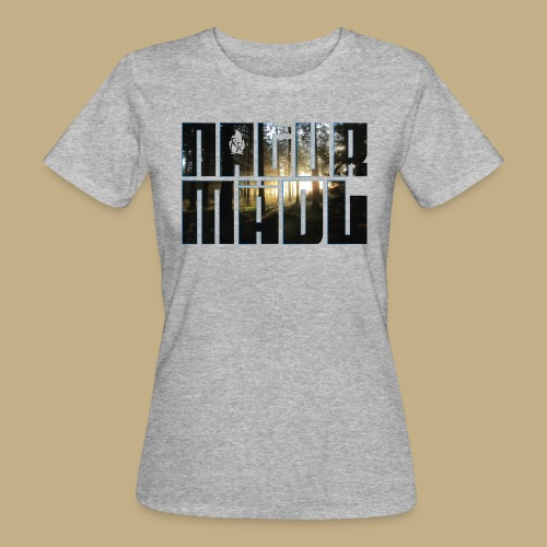 Naturmädl Wood - Frauen Bio-T-Shirt