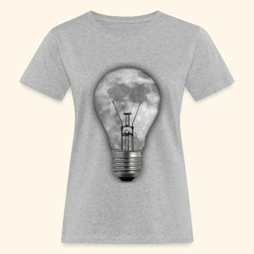 moon bulb - Camiseta ecológica mujer