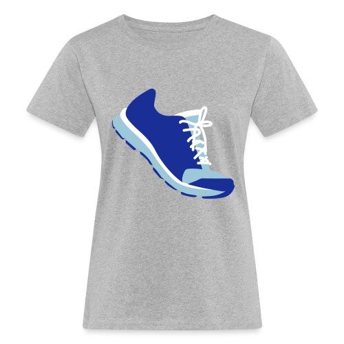 Laufschuh - Frauen Bio-T-Shirt