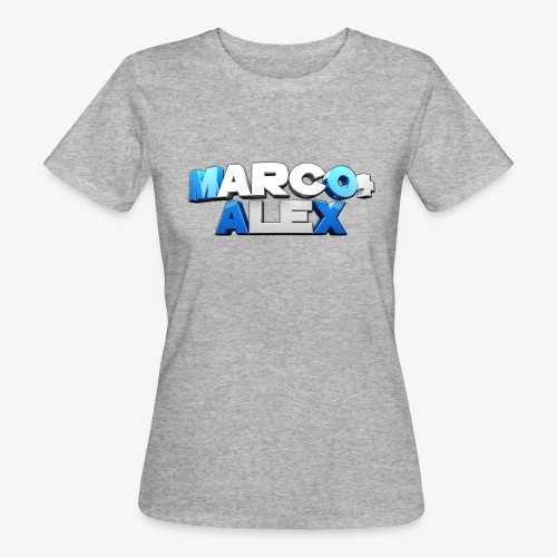 Logo Marco+Alex - T-shirt ecologica da donna