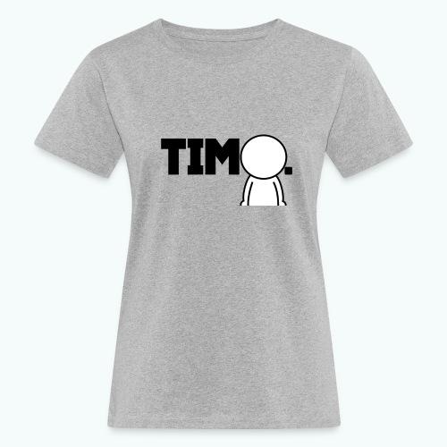 Design met ventje - Vrouwen Bio-T-shirt