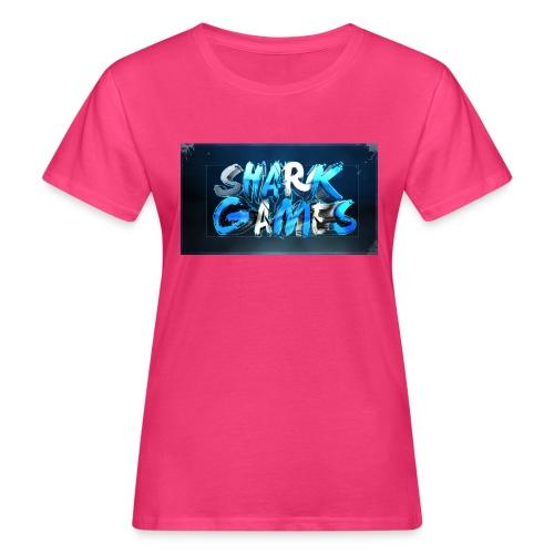 SharkGames - T-shirt ecologica da donna