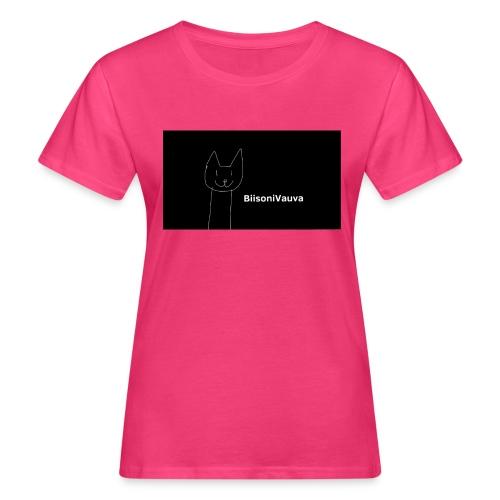 biisonivauva - Naisten luonnonmukainen t-paita