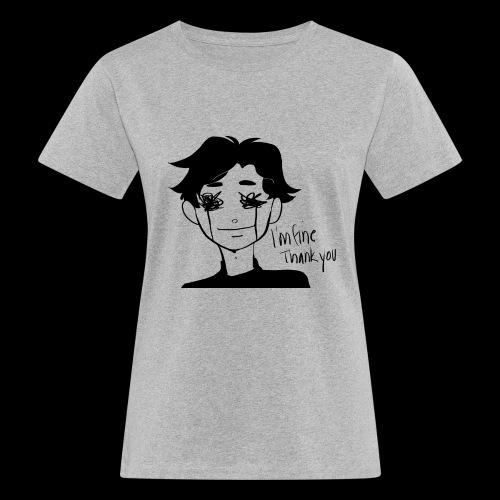 Feeling Vulnerable - Vrouwen Bio-T-shirt