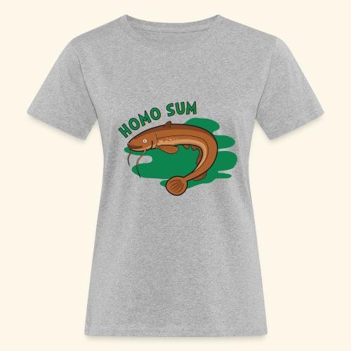 Homo sum ;) - Ekologiczna koszulka damska