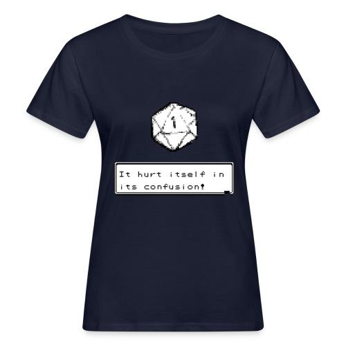 Kriittinen epäonnistuminen itsessään sekaannuksessa D & D DnD - Naisten luonnonmukainen t-paita