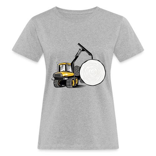Kuormatraktori t paidat, hupparit, lahjatuotteet - Naisten luonnonmukainen t-paita