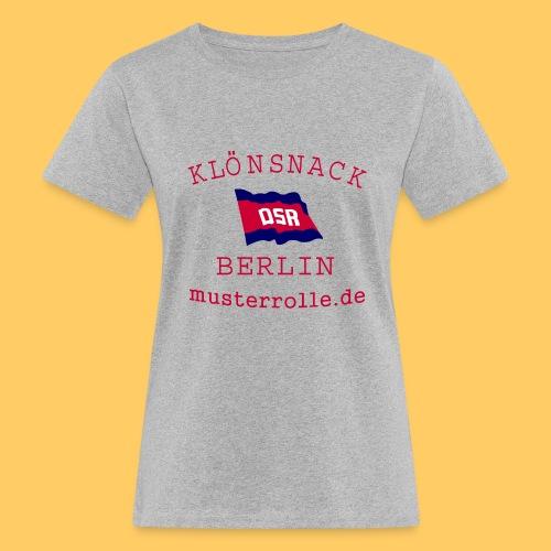 KiB-Logo-gif - Frauen Bio-T-Shirt