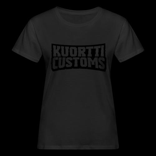 kuortti_customs_logo_main - Naisten luonnonmukainen t-paita