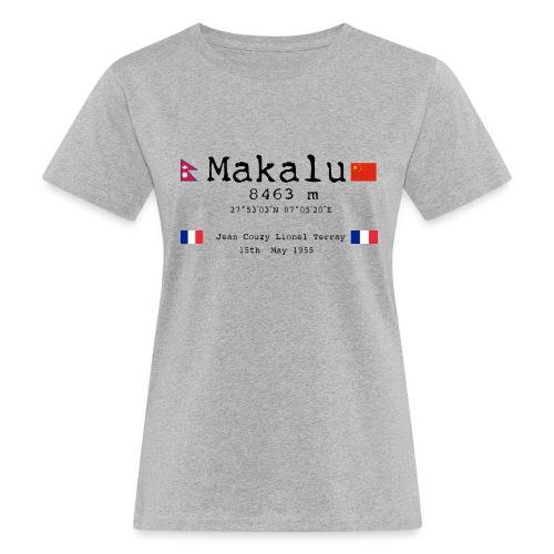Makalublack - T-shirt ecologica da donna