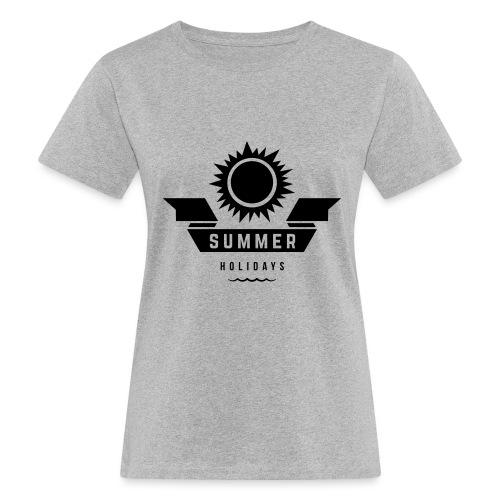 Summer holidays - Naisten luonnonmukainen t-paita