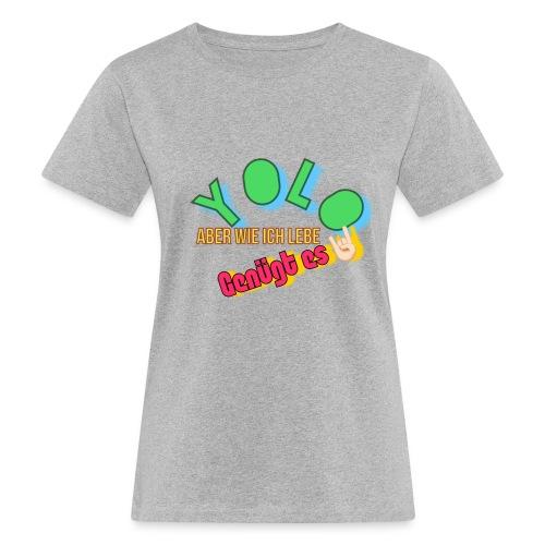 6E3689E9 1ECD 482F 82D1 BE6F09989293 - Frauen Bio-T-Shirt