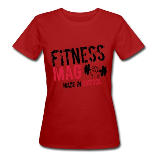 Fitness Mag made in corsica 100% Polyester - T-shirt bio Femme