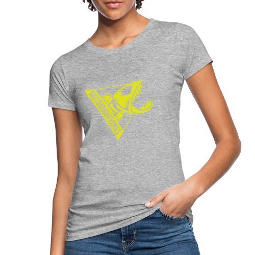 Logo Motoboquerones amarillo - Camiseta ecológica mujer