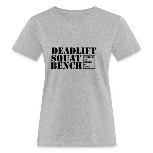 The Big 3 - Women's Organic T-Shirt