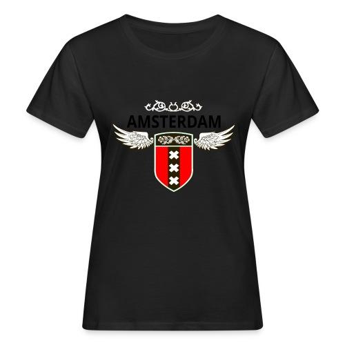 Amsterdam Netherlands - Frauen Bio-T-Shirt