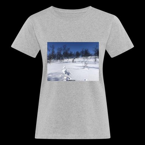 Fin natur - Økologisk T-skjorte for kvinner