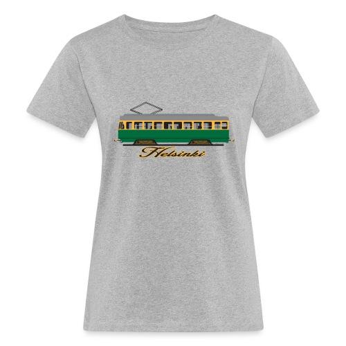 HELSINKI RATIKKA T-PAIDAT, HUPPARIT JA LAHJAT - Naisten luonnonmukainen t-paita